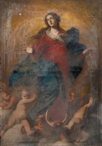Immacolata Concezione (confer to Stanzione) - before the restoration